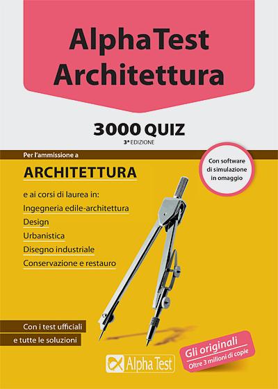 Libri per test di ammissione universit maturit e for Test di architettura