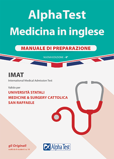 Alpha Test Medicina in inglese IMAT. Manuale